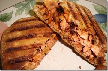 BBQ Chicken Panini 010