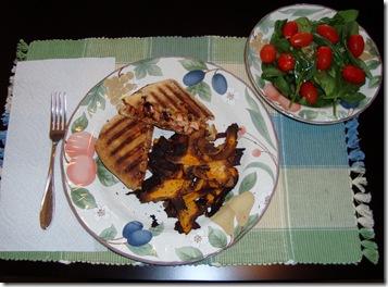 BBQ Chicken Panini 011