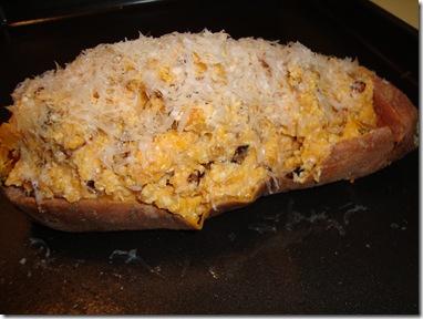 Twice Baked Sweet Potato 014
