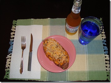 Twice Baked Sweet Potato 018