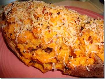 Twice Baked Sweet Potato 020