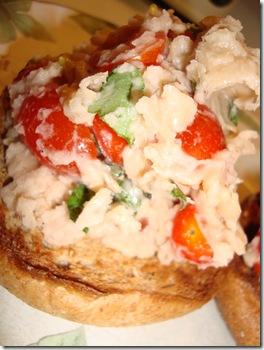 White Bean & Garlic Salad 014