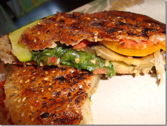 Grilled Vegetable Panini 025