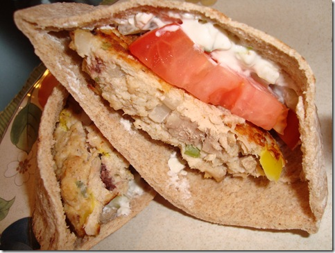 Mediterranean Tuna Burgers 004