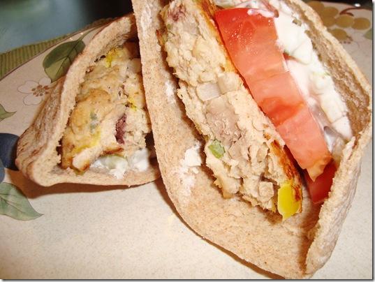 Mediterranean Tuna Burgers 007