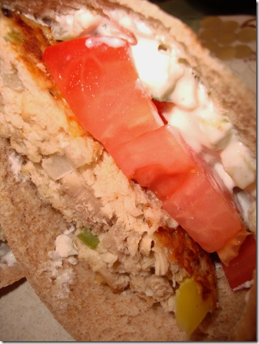 Mediterranean Tuna Burgers 008