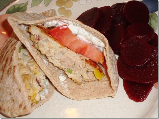 Mediterranean Tuna Burgers 010