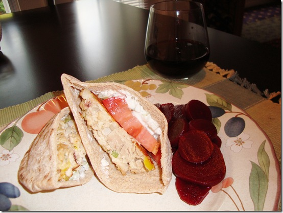 Mediterranean Tuna Burgers 012