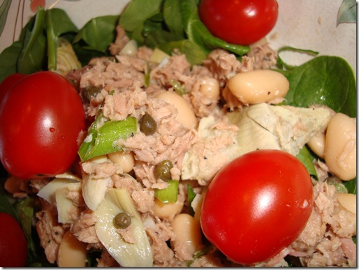 White Bean & Tuna Salad 014