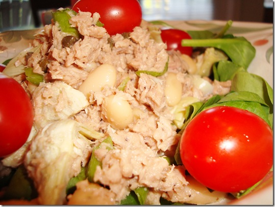White Bean & Tuna Salad 019