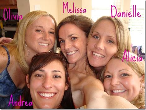 Danielle's Bachelorette Weekend Girls