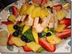 Spicy Chicken & Fruit Salad 005