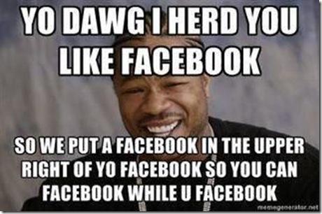 facebook while u facebook