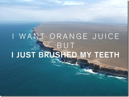 OJ teeth