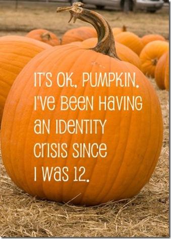 pumpkin identity crisis