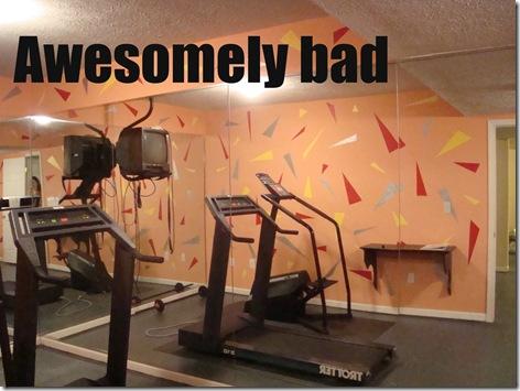 awesomely bad