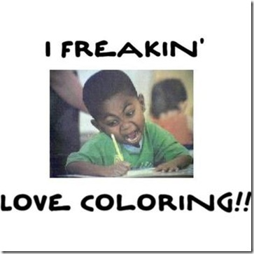 love coloring