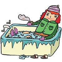 Icebath illustration 200