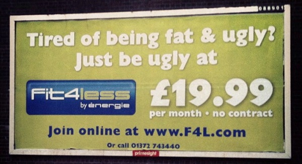 A local gym s solution to feeling fat and ugly