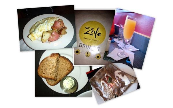 Zola brunch