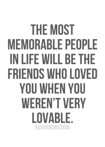 memorable friends
