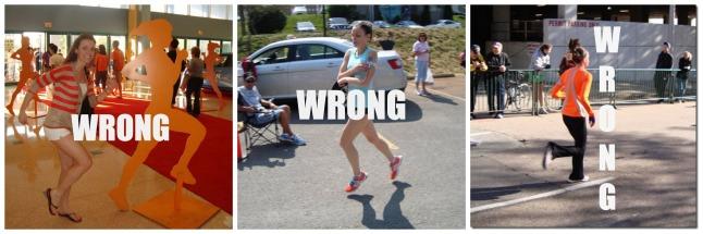 running wrong