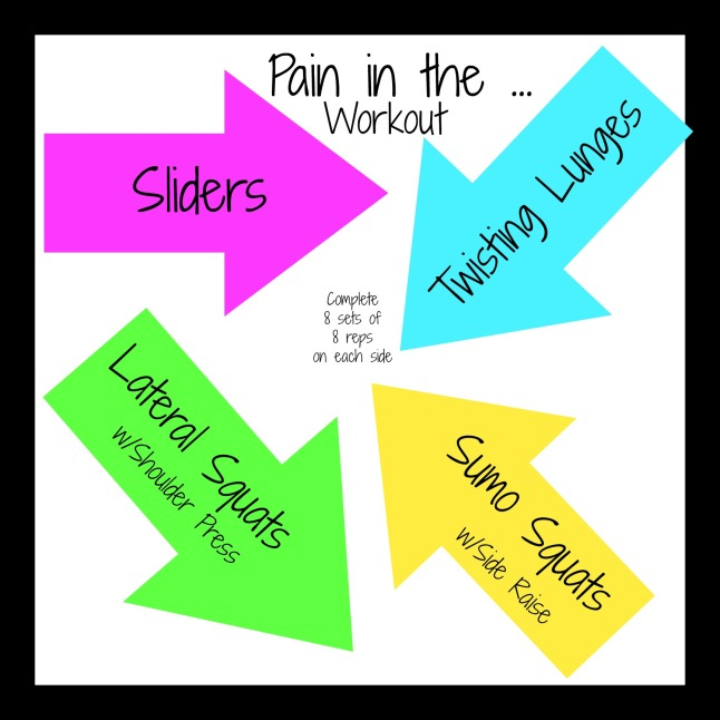 pain in the ... workout